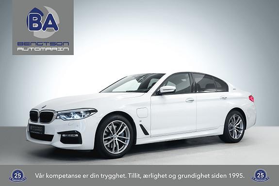 BMW 5-serie 530e iPERFORMANCE M-SPORT NORSK 1-EIER HUD H&K KOMFSTOL  2017, 67000 km, kr 384000,-