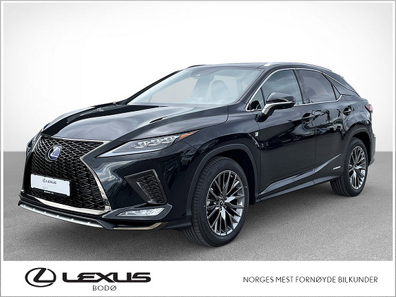 Lexus RX450h F Sport S Alt Utstyr, DropOF ++  2021, 3500 km, kr 999000,-