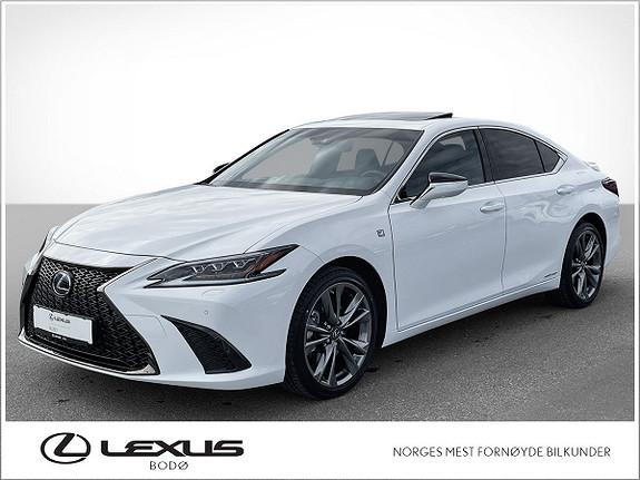 Lexus ES 300h F Sport S Hybrid   ALT utstyr   Mark Levinson    2021, 3000 km, kr 689000,-