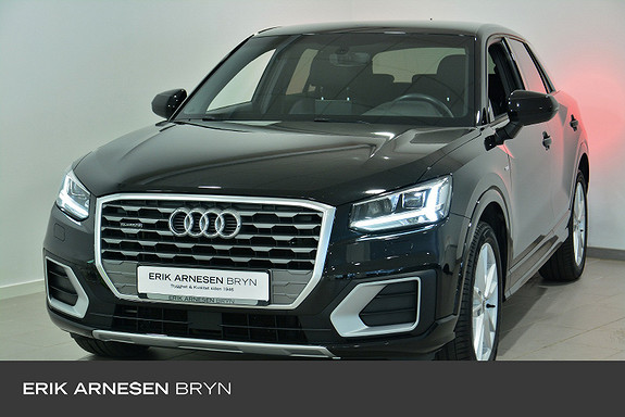 Audi Q2 2,0 TDI 150hk quattro aut S line, Webasto, ACC  2018, 30000 km, kr 379900,-