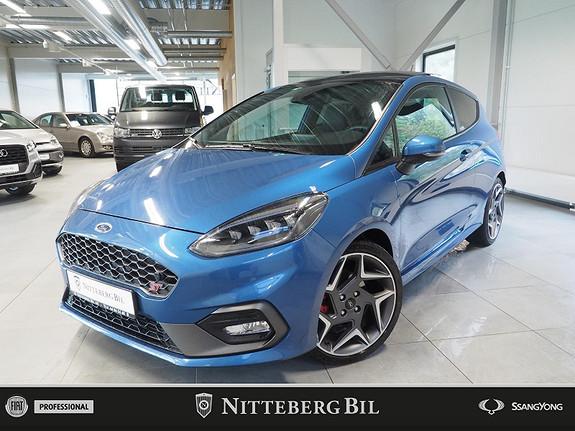 Ford Fiesta ST 200HK -Skinn -  2019, 23000 km, kr 329000,-