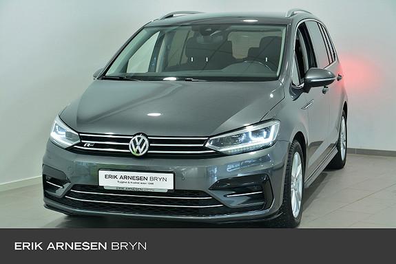 Volkswagen Touran 7 seters 2,0 TDI 150hk Highline DSG Webasto, 7 seter ++  2017, 82400 km, kr 309900,-