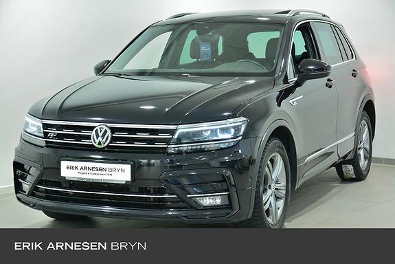 Volkswagen Tiguan excl.r 190 tdi 4m dsg R-line, Easy open, Transportpakke  2018, 86100 km, kr 409900,-