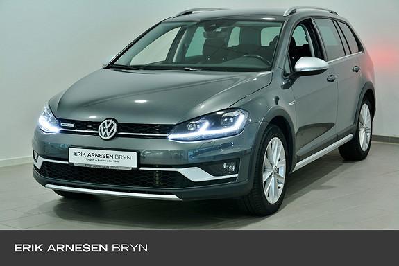 Volkswagen Golf Alltrack all.excl 180 4m tsi dsg Webasto, Krok, Kamera, Navi + +  2018, 61550 km, kr 329900,-