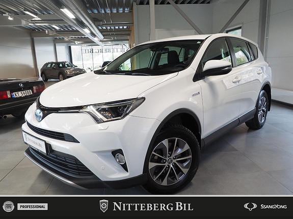 Toyota RAV4 - Hybrid - Navigasjon - Ryggekamera -  2017, 144000 km, kr 239000,-