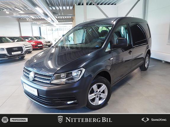 Volkswagen Caddy Maxi - Acc - Navi - Webasto - Dab - Alu -  2017, 70000 km, kr 199000,-