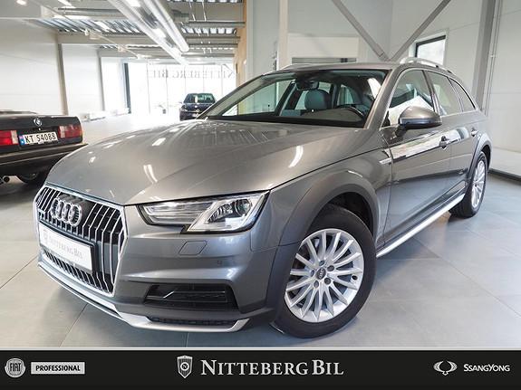 Audi A4 allroad Quattro - Webasto - AppleCarplay - El Seter Skinn / Alc  2017, 47000 km, kr 369000,-