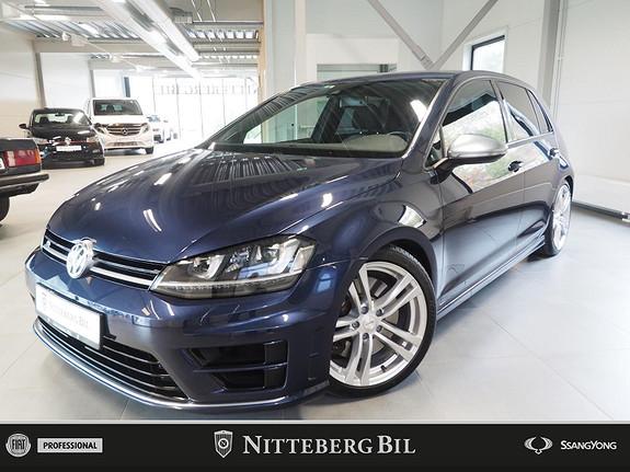 Volkswagen Golf - R - DSG - 4M - Dynaudio - Acc - Miltek  2016, 55000 km, kr 429000,-