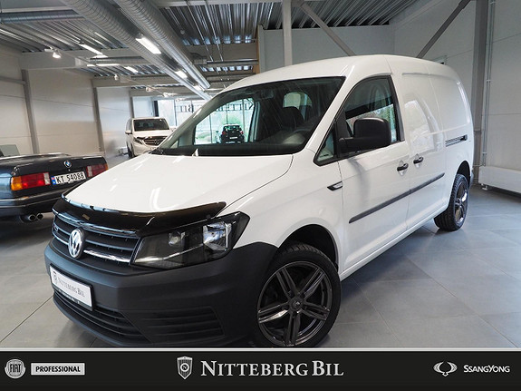 Volkswagen Caddy Maxi - 2.0TDI - 4 Motion - Webasto - Dab -  2018, 41600 km, kr 239000,-