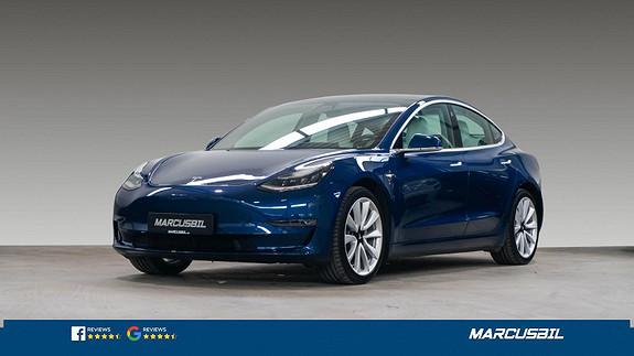 """Tesla Model 3 LR AWD EAP/HIFI/VINTER/H.FESTE/19""""+19""""  2019, 31000 km, kr 409900,-"""