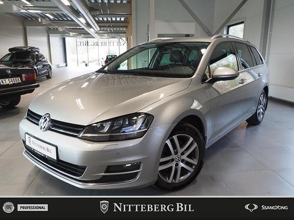 Volkswagen Golf - Highline - Fjernbetjent webasto - Dab  2016, 147000 km, kr 155000,-