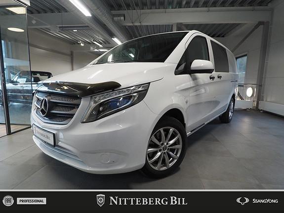 Mercedes-Benz Vito 114CDI - 4x4 - Automat - Webasto - Dab -  2017, 95600 km, kr 319000,-