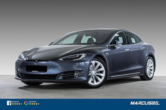"""Tesla Model S LONG RANGE """"RAVEN"""" FSD/LUFT/PANO/HIFI/VINTER/S+ V  2020, 35640 km, kr 739900,-"""
