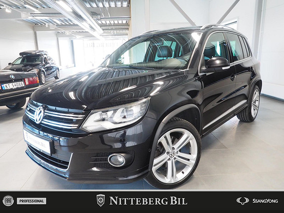 Volkswagen Tiguan - R-Line - Fjernbetjent webasto - Pano -  2014, 142000 km, kr 225000,-