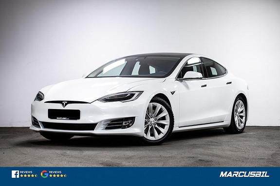 Tesla Model S 75D AP2.5/LUFT/SKINN/HIFI/VINTER/GLASSTAK/MCU2  2018, 81500 km, kr 439900,-