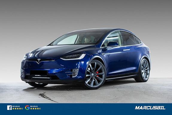 "Tesla Model X P100DL 6S/FSD/HIFI/VINTER/22""/CCS  2017, 68600 km, kr 759900,-"