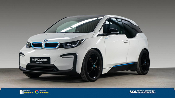 """BMW i3 120Ah/CHARGED/19""""&19""""/NORSK  2019, 25850 km, kr 249900,-"""