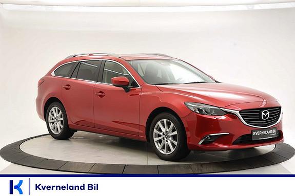 Mazda 6 2,0 -145HK Bensin Manuell, Vision, NAVI, Cruisek, parks  2018, 41460 km, kr 249000,-