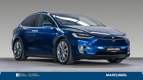 Tesla Model X 75D 5S/FSD/MCU2/VINTER/HIFI/S+ V  2017, 66000 km, kr 529000,-