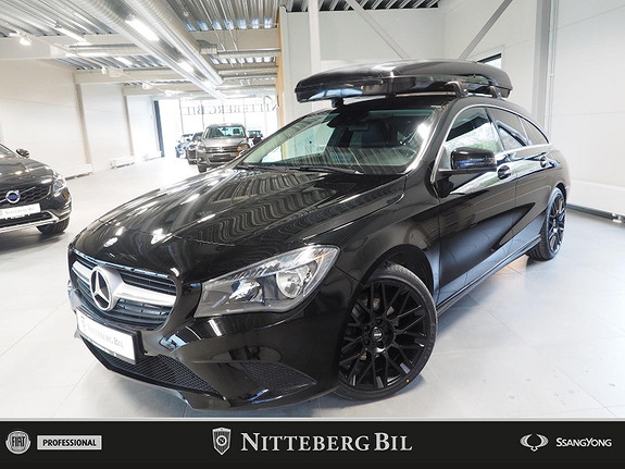 Mercedes-Benz CLA 180 Shooting Brake - Lav km - Dab -  2016, 58000 km, kr 229000,-