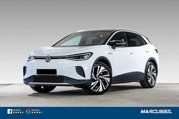 Volkswagen ID.4 1ST PRO PERFORMANCE, SUV, H-FESTE, S/V, 77KWH, WLTP517  2021, 100 km, kr 475000,-
