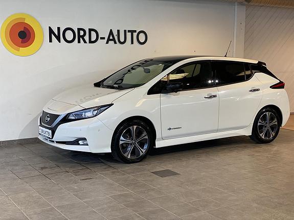 Nissan Leaf 40KWH/Tekna/90kw/ Krok/Skinn/E-pedal/Rattvarm/Ryggekam/  2018, 47942 km, kr 229900,-