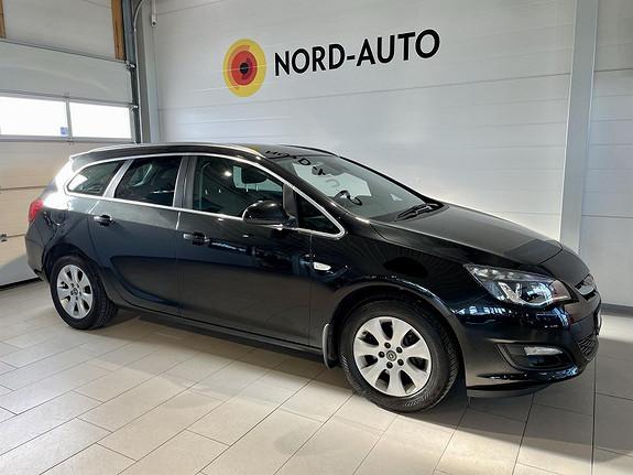 Opel Astra 1.6  CDTI/COSMO/KROK/CRUISE/P.SENSOR/DAB+/LEDLYS  2015, 129318 km, kr 139900,-