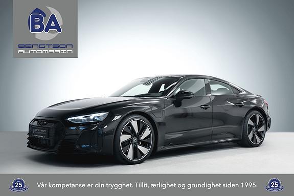 "Audi e-tron GT PRO Quattro NORSK ACC B&O MATRIX LUFT PANO HUD 21"" 20""  2022, 927 km, kr 1149000,-"