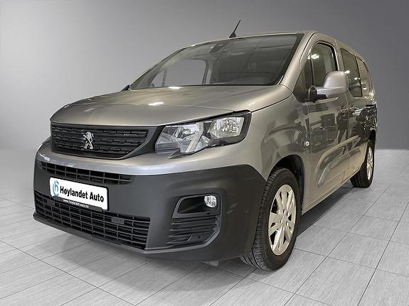 Peugeot Partner 1.5  MESTER L2 l 131HK l WEBASTO l KROK l AUTOMAT + +  2019, 33429 km, kr 269000,-