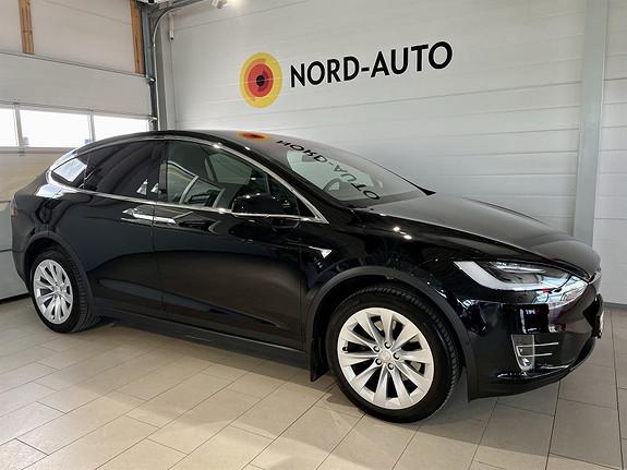 Tesla Model X 75D/4X4/LUFT/AUTOPILOT/ACC/KROK/PREMIUM CONNECTIVITY  2018, 67626 km, kr 579900,-