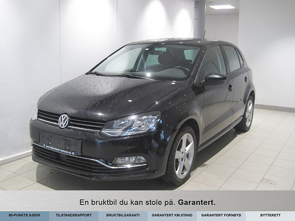Volkswagen Polo 90 tsi dsg high. dab+  gp Highline  Automat ,++  2015, 63900 km, kr 129000,-