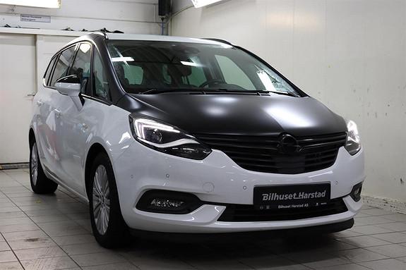 Opel Zafira Tourer 1.4 T 140HK PREMIUM.7 seter, skinn, navigasjon, sportss  2017, 32000 km, kr 279000,-