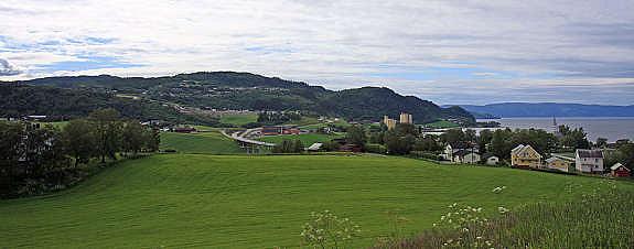 Utsikt fra Presthustoppen