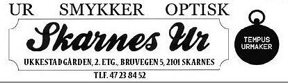 Skarnes Ur & Gull B. Johnsen
