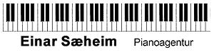Einar Sæheim Pianoagentur