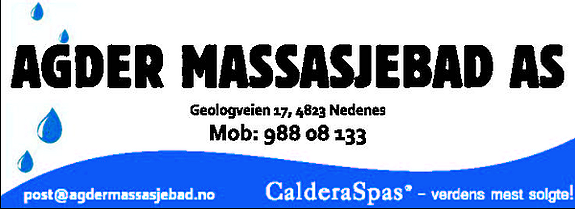 AGDER MASSASJEBAD AS