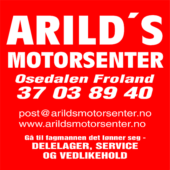 ARILD'S MOTORSENTER AS