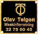 OLAV TEIGEN MASKINFORRETNING
