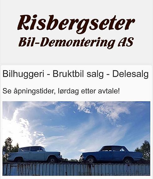 Risbergseter Bil-Demontering AS